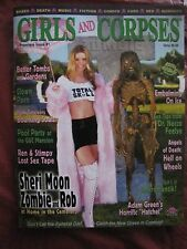 Girls and Corpses # 1 Uncirculated   Sheri Moon Zombie & Rob OUT OF PRINT