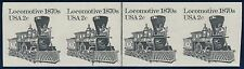 "#1897Ac 2¢ ""LOCOMOTIVE"" STRIP OF 4 IMPERF WITH PLATE #3 MAJOR ERROR BQ9884"