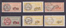South Viet Nam Bft 76-81 MNH. 1960 Surchaged Fiscals VF