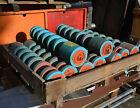 Sandvik 1650-C89-152-4 conveyor polly disk belt return rollers x 9 mining spares