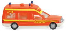 "Wiking 060701 MB Fire Brigade Ambulance "" Binz "" 1:87 NEW"