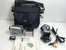 Sony Handycam Dcr-Hc28 Mini Dv Digital Video Camcorder Camera Recorder Bundle