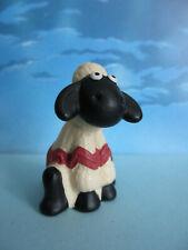 ADORABLE FIGURINE SHAUN SHEEP LE MOUTON WALLACE & GROMIT 1989 -  +/- 4,5 cm TBE