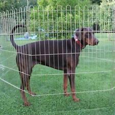 B-Ware XXXL Hundeauslauf 100cm Hoch Welpenauslauf Hundezaun Hundefreilauf Welpe