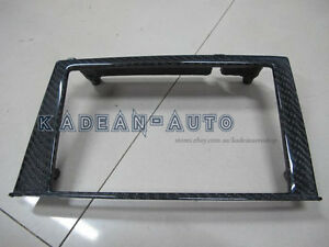 CARBON RHD RADIO CONSOLE SURROUND (REPLACEMENT) FOR R34 GTR
