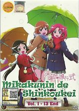 DVD Mikakunin de Shinkoukei Vol. 1 – 13 End ( Engaged to the Unidentified )