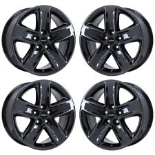 "18"" FORD FUSION SPORT BLACK CHROME WHEELS RIMS FACTORY ORIGINAL OEM SET 4 3800"