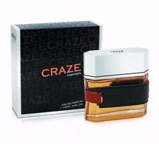 Armaf Craze For Men 3.4oz/100ml Eau De Parfum Limited Stock.