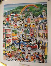 PERGOLA Linnea Sérigraphie serigraph signée numér. Beverley Hills L.A. U.S. **