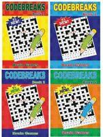CODE BREAK TRAVEL BOOKS 150 PUZZLES PER A5 ACTIVITY BOOK CODE BREAKERS 3150