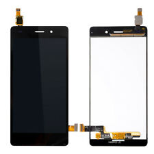 For Huawei P8 Lite 2017 LCD Touch Screen Digitizer Assembly Frame Black ALE-L21