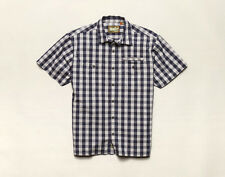 Howler Brothers Aransas Shirt ~ Palaka Plaid Blue NEW ~ Closeout Size Small