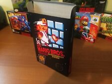 Super Mario Bros. Box Only, NES Nintendo Replacement Art Case/Box !!!