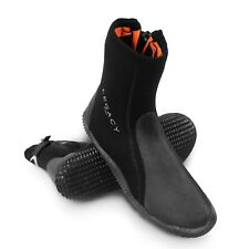 cf76f1ee303e Legacy 2019 5mm Wetsuit Boots   Zip Watersports Shoe Surf Sailing Dive Size  5-12