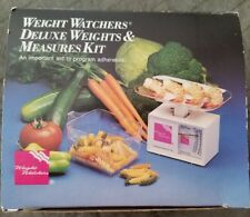 WEIGHT WATCHERS DELUXE WEIGHTS & MEASURES SCALE - Used