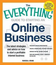 THE EVERYTHING GUIDE TO STARTING AN ONLINE BUSINESS BY RANDALL CRAIG EUC