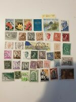 38 Belgium used Stamps   - Nice Examples