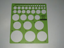 Professional Combo Circle 977-100 Staedtler Template Drafting