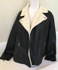 Women's Old Navy Faux Leather Jacket  Size XXL / TTG NEW WITH TAGS! MSR $74.99
