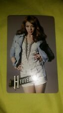SNSD Hyoyeon first japan tiur japan JP  official photocard Kpop K-pop u.s seller