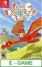 Nintendo Switch Little Dragons Cafe ★Brand New & Sealed★