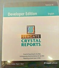 Crystal Reports 8 Developer Edition (New Factory Sealed Retail Box)