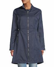 NWT Anatomie XL Women's Blue Farreta Zip-front Lightweight Windproof Jacket