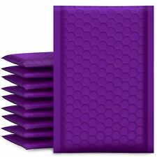 Ucgou Bubble Mailers 4x8 Inch Purple 50 Pack Poly Padded Envelopes Small Busi