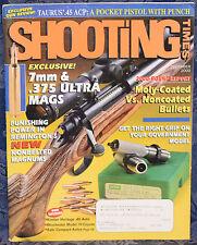 Magazine SHOOTING TIMES December 2000 !!KIMBER HERITAGE EDITION 1911 PISTOL!!
