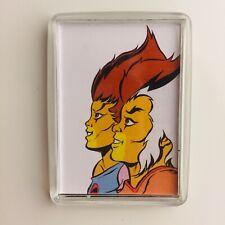 WILYKIT & WILYKAT Comic Art Retro Thundercats Fridge Magnet