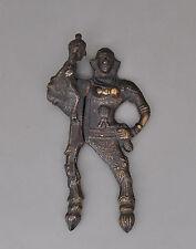 Jagdszene Um1900 H Antikes Bronze Wandbild Bronzebild Ca Henjes Signiert