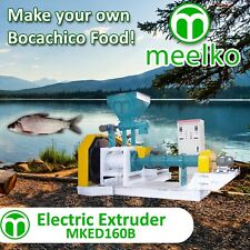 ELECTRIC EXTRUDER TO MAKE YOUR OWN TILAPIA FISH FOOD - MKED160B (FREE SHIPPING)
