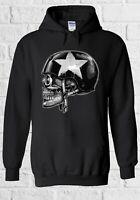 Skull Biker Punk Custom Motorcycle Gift Men Women Unisex Sweatshirt Hoodie 2332