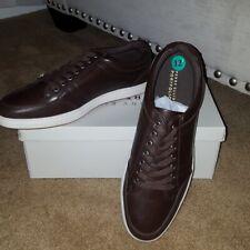 Perry Ellis mens size 12 brown prep shoes shoe