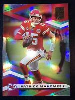 Patrick Mahomes II DONRUSS ELITE 2020 HOLOFOIL #1 CHIEFS FOOTBALL Super Bowl MVP