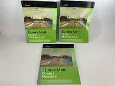 Eureka Math LEARN STUDENT GR 1 One MOD 2 3 4 5 6 Practice Homeschool Textbook