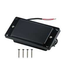 New Black Closed Dual Hot Rail Humbucker Pickup Double Coil for Electric Guitar