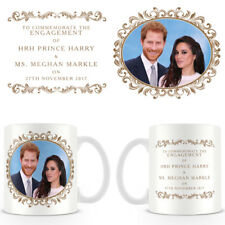 HRH Prince Harry & Ms Meghan Markle Engagement Commemorative Ceramic Coffee Mug