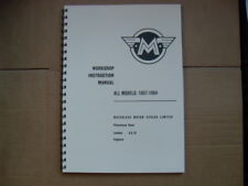 MATCHLESS/AJS WORKSHOP MANUAL SINGLES & TWINS 1957-1964