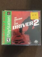 Driver 2 (Sony PlayStation, 2000) ✅CIB/Complete ✅Tested