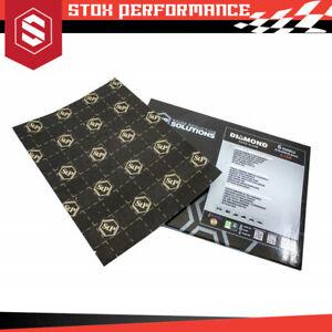 STANDARTPLAST STP Aero Alum Diamond Line 0,3mm Thickness Car Soundproof-6 Sheets