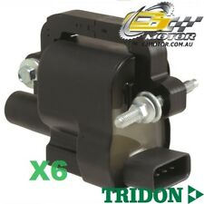 TRIDON IGNITION COIL x6 FOR Landrover  Discovery 3 4 11/04-01/10, V6, 4.0L