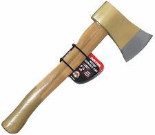 More details for dekton wooden handle 1.5lb hatchet axe chopper splitter for wood camping kindle