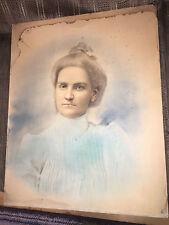 1900'S COLOR PICTURE PORTRAIT OF VINNIE EVANS JONES