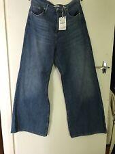 Zara BNWT Wide Leg Denim Jeans Size 42