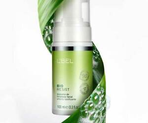 L'BEL BIO RESIST FACIAL CLEANSING FOAM WITH TONIC EFFECT 100 ml. SEALED -NEW