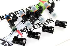 4 - NEW 1000cc BOSCH EV14 Fuel Injectors 2006+ Honda Civic R18