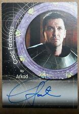Stargate SG-1 Autograph Card - A100 Craig Fairbrass (Arkad)