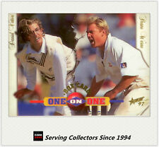 1997/98  Select Cricket Trading Cards BOX CARD B7: D.Vettori/S.Warne