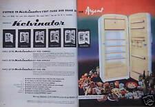 PUBLICITÉ 1958 KELVINATOR BON USAGE DE SON ARGENT - ADVERTISING
